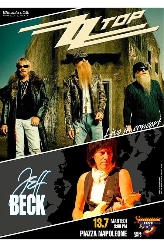 ZZ TOP - JEFF BECK
